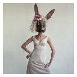 Vogue - February 1965 - Bunny Mask Photographic Print by Gianni Penati