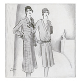 Vogue - March 1929 Regular Giclee Print by  Creelman