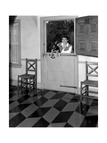 House & Garden - June 1946 Regular Photographic Print by George Platt Lynes