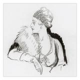 Vogue - December 1936 Regular Giclee Print by Porter Woodruff