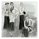 Vogue - July 1931 Regular Giclee Print by  Creelman