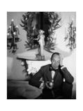 House & Garden - October 1947 Regular Photographic Print by George Platt Lynes