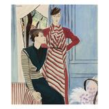 Vogue - August 1933 Giclee Print by R.S. Grafstrom