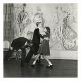 Vogue - December 1948 Regular Photographic Print by Frances Mclaughlin-Gill