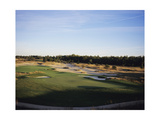 Forest Dunes Golf Club, Hole 17 Regular Photographic Print by Stephen Szurlej