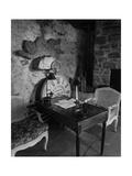 House & Garden - November 1946 Fotografisk tryk af André Kertész