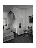House & Garden Regular Photographic Print by Tom Leonard