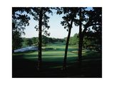 Olympia Fields Country Club North Course, Hole 9 Regular Photographic Print by Stephen Szurlej