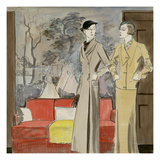 Vogue - March 1932 Giclee Print by R.S. Grafstrom