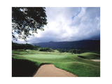 Luana Hills Country Club, Hole 6 Regular Photographic Print by Stephen Szurlej