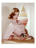 Vogue - April 1955 Regular Photographic Print by Horst P. Horst