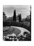House & Garden - August 1939 Regular Photographic Print by Ben Schnall
