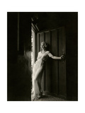 Vanity Fair - February 1935 Photographic Print by Maurice Goldberg