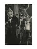 Vogue - October 1949 Regular Photographic Print by Donald Honeyman