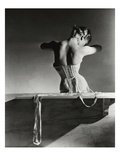 Vogue - September 1939 - Mainbocher Corset Regular Photographic Print autor Horst P. Horst