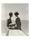 Vogue - July 1930 - Divers Regular Photographic Print van George Hoyningen-Huené