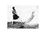 Virginia Van Wie, The American Golfer October 1930 Regular Photographic Print