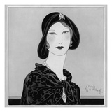 Vogue - September 1929 Regular Giclee Print by Douglas Pollard