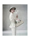 Glamour - April 1953 Regular Photographic Print by Francesco Scavullo