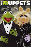 The Muppets-Kermit and Piggy Print