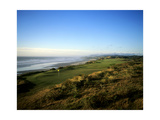 Pacific Dunes Golf Course, Hole 4 Regular Photographic Print by Stephen Szurlej