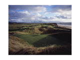 Tralee Golf Club, Hole 13 Regular Photographic Print by Stephen Szurlej