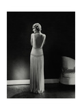 Vogue - January 1933 - Constance Bennett Regular Photographic Print by Edward Steichen