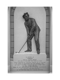 Old Tom Morris Gravestone Regular Photographic Print by Bill Fields