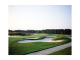 World Golf Village, The King and Bear Golf Course bunker Photographic Print by Stephen Szurlej
