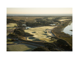 Kiawah Island Resort, Ocean Course, sand dunes Regular Photographic Print by Stephen Szurlej