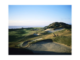 Pacific Dunes Golf Course, Hole 13 Photographic Print by Stephen Szurlej
