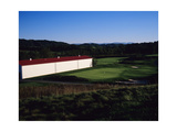 Long barn, The Olde Farm Golf Club Regular Photographic Print by Stephen Szurlej