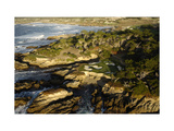 Cypress Point Golf Course, Pebble beach Regular Photographic Print by J.D. Cuban