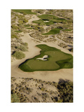 Desert Mountain Renegade Course, Hole 6, aerial Photographic Print by J.D. Cuban