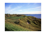Whistling Straits Golf Club, Hole 12 Regular Photographic Print by Stephen Szurlej