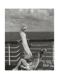 Vogue - July 1934 - Cruising to Hawaii Regular Photographic Print by Edward Steichen