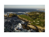 Cypress Point Golf Course, Hole 17 Photographic Print by J.D. Cuban