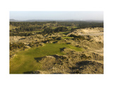 Bandon Trails Golf Course, Hole 1 Regular Photographic Print by J.D. Cuban