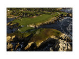 Cypress Point Golf Course, cliffs Regular Photographic Print by J.D. Cuban