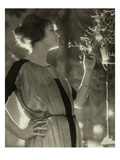 Vogue - February 1921 Regular Photographic Print by Baron Adolphe De Meyer