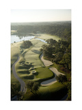TPC Sawgrass Stadium Course, Hole 9 Regular Photographic Print by Stephen Szurlej