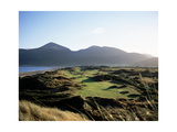 Royal County Down Golf Club, Hole 3 Regular Photographic Print by Stephen Szurlej