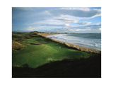 Doonbeg Golf Club, Hole 9 Regular Photographic Print by Stephen Szurlej