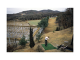 Korean Driving Range Near DMZ Photographic Print by Stephen Szurlej