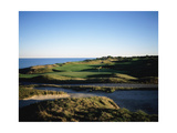 Whistling Straits Golf Club, Hole 11 Regular Photographic Print by Stephen Szurlej