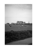 Royal and Ancient Golf Club of St. Andrews Regular Photographic Print by Bill Fields