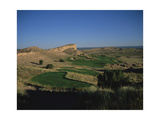 Black Mesa Golf Club, Hole 7 Regular Photographic Print by Stephen Szurlej