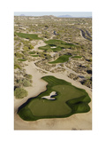 Desert Mountain Renegade Course, Hole 6 Regular Photographic Print by J.D. Cuban