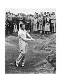 Henry Cotton, American Golfer August 1934 Photographic Print