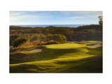 Crystal Downs Country Club, deep bunkers Regular Photographic Print by Dom Furore